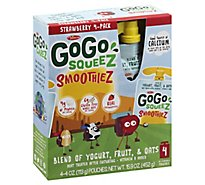 Materne Gogo Squeez Straberry Smoothies - 15.94 Oz