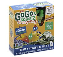 Materne Gogo Blueberry Spinach - 4 Oz