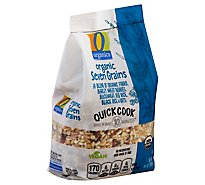 O Organics Seven Grains Quick Cook - 8.8 Oz