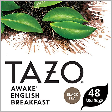 TAZO Tea Bags Black Tea Awake English Breakfast - 48 Count