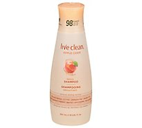 Live Clean Shampoo Refresh Apple Cider - 12 Fl. Oz.