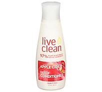Live Clean Conditioner Refresh Apple Cider - 12 Fl. Oz.