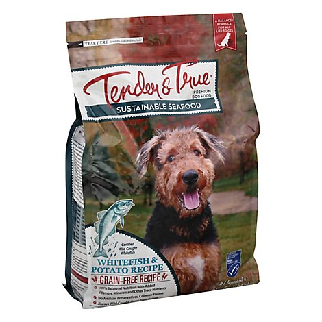 Tndr And True Dog Fd Whtfish And Potato - 4 Lb
