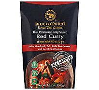 Blue Elephant Curry Sauce Thai Premium Red Curry - 10.6 Oz