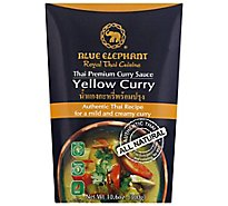 Blue Elephant Curry Sauce Thai Premium Yellow Curry - 10.6 Oz