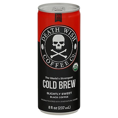 Death Wish Coffee Cld Brw Slight Swt - 8 Fl. Oz.