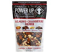 Gourmet Nut Power Up Trail Mix All Natural Almond Cranberry Crunch - 14 Oz