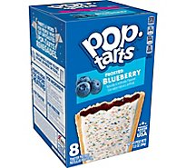 Pop-Tarts Breakfast Toaster Pastries Frosted Blueberry - 13.5 Oz