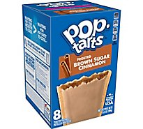 Pop-Tarts Breakfast Toaster Pastries Frosted Brown Sugar Cinnamon - 13.5 Oz