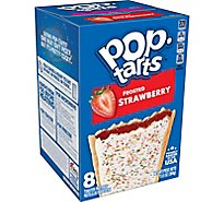 Pop-Tarts Breakfast Toaster Pastries Frosted Strawberry - 13.5 Oz