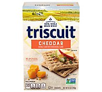 Triscuit Crackers Wheat Whole Grain Cheddar - 8.5 Oz