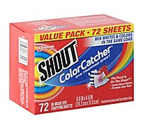 Shout Color Catcher Dye Trapping Sheets Value Pack - 72 Count
