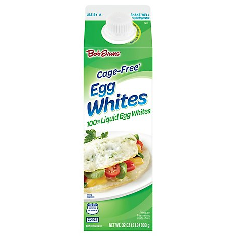 Bob Evans Cage Free Liquid Egg Whites - 32 Oz