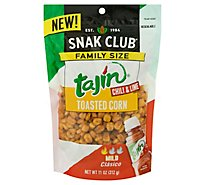 Snak Club Toasted Corn Tajin Chili & Lime Mild - 11 Oz