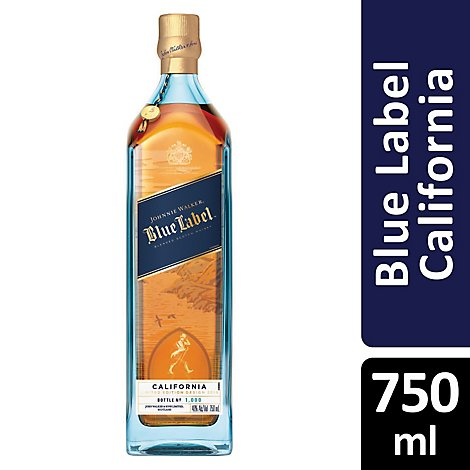 Johnnie Walker Blue Ltd California - 750 Ml
