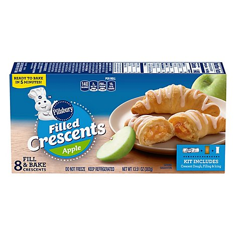 Pillsbury Apple Filled Crescent Rolls 8 Count - 13.51 Oz