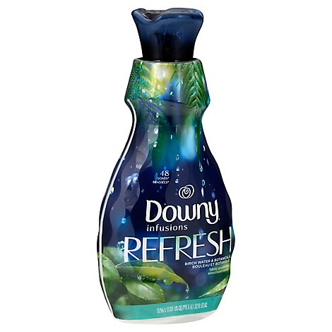 Downy Infusions Fabric Conditioner Refresh Birch Water & Botanicals - 32 Fl. Oz.