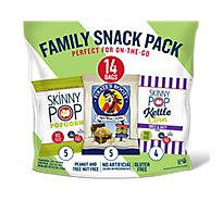 Skinny Pop And Pirates Booty Variety Pack - 14 Count