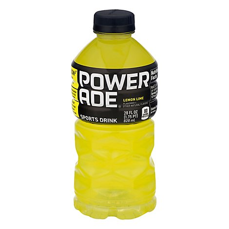 POWERADE Sports Drink Lemon Lime - 28 Fl. Oz.