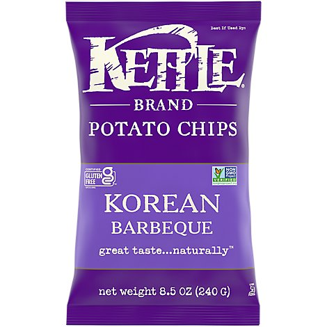 Kettle Potato Chips Korean Barbeque - 8.5 Oz