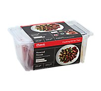 Plated Cooking Kit For Two Seared Steak - 35.3 Oz