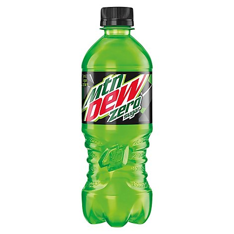 Mountain Dew Soda Zero Sugar - 20 Fl. Oz.