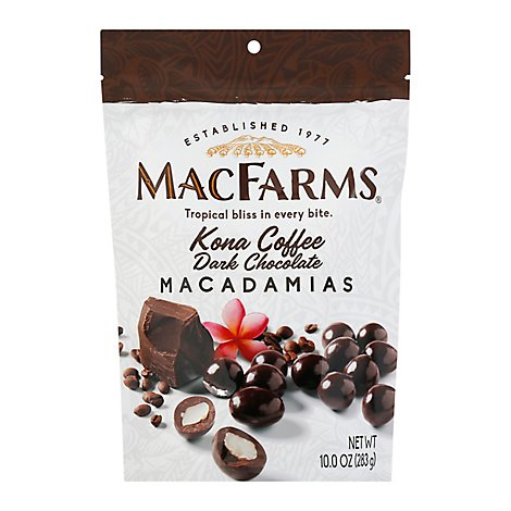 MacFarms Macadamias Milk Chocolate - 10 Oz