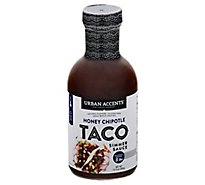Urban Accents Sauce Taco Honey Chipotle - 13.4 Oz
