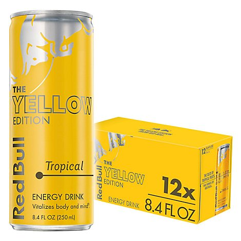 Red Bull Yellow Edition - 12-8.4 Fl. Oz.