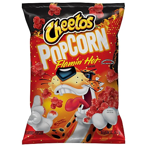 CHEETOS Popcorn Flamin Hot - 2 Oz