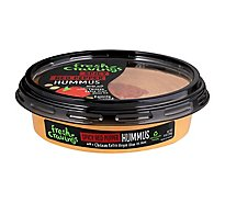 Fresh Cravings Spicy Red Pepper Hummus - 10 Oz