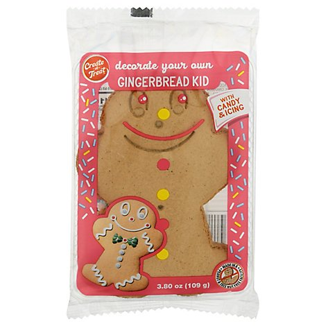 Cat Gingerbread Boy Cookie Kit - 3.8 Oz