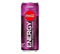 Coca-Cola Energy Drink Cherry - 12 Fl. Oz.