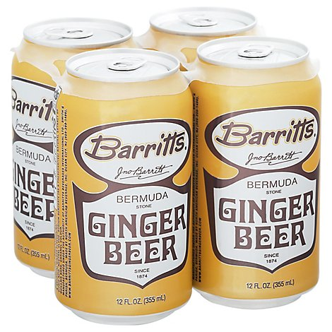 Barrits Ginger Beer - 4-12 Fl. Oz.