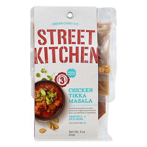 Street Kitchen Tikka Masala Scrtch Kit - 9 Oz