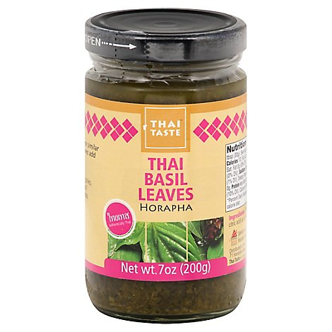 Thai Taste Thai Basil Leaves - 7 Oz