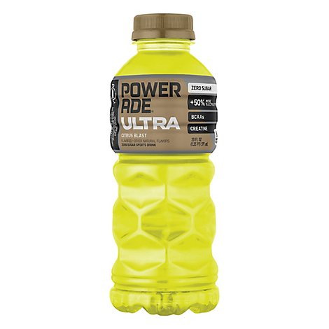 POWERADE Ultra Sports Drink Zero Sugar Citrus Blast - 20 Fl. Oz.