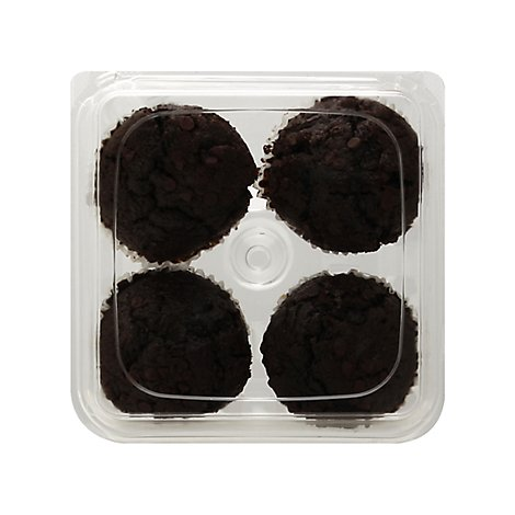 Muffins Double Chocolate 4ct