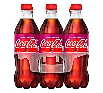 Coca-Cola Soda Cherry Vanilla - 6-16.9 Fl. Oz.