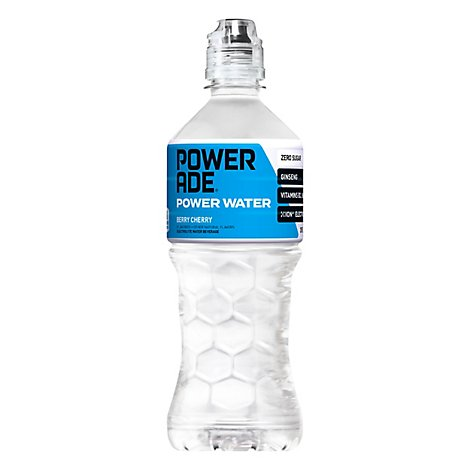 POWERADE Power Water Berry Cherry - 20 Fl. Oz.