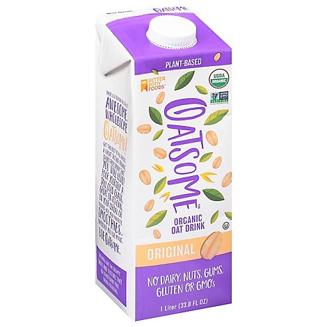 Betterbody Milk Oat Org - 33.8 Fl. Oz.