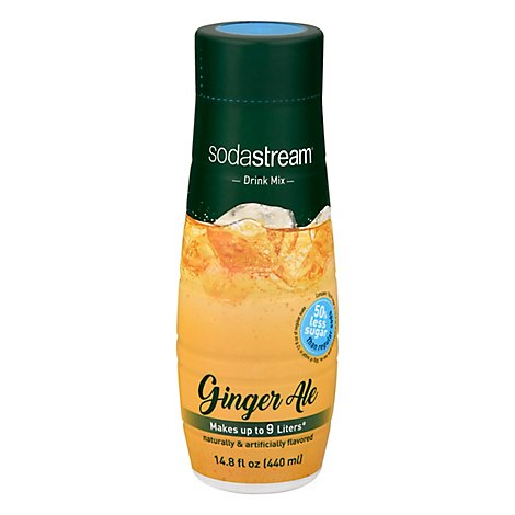 SodaStream Sparkling Drink Mix Ginger Ale - 14.8 Fl. Oz.