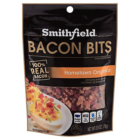 Smithfield Fully Cooked Bacon Bits - 2.8 Oz