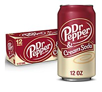 Dr Pepper Cream Soda - 12-12 Fl. Oz.
