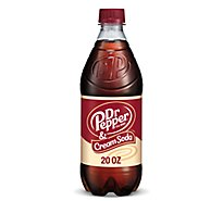 Dr Pepper & Cream Soda - 20 Fl. Oz.