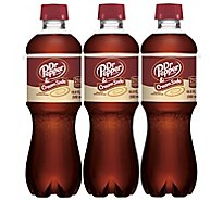 Dr Pepper Cream Soda - 6-16.9 Fl. Oz.