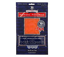 Nordic Reserve Salmon Atlantic Cold Smoked Oak - 4 Oz