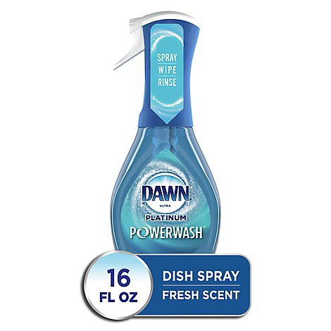 Dawn Ultra Platinum Dish Spray Powerwash Fresh Scent - 16 Fl. Oz.
