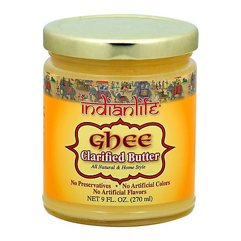 Indianlife Ghee-Clarified Butter - 9 Oz