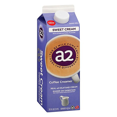 A2 Creamer Sweet Cream - 32 Fl. Oz.